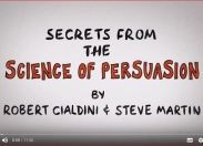 "video link to ""The Science of Persuasion"""