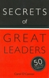 Secrets of Great Leaders - book cover